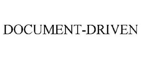 DOCUMENT-DRIVEN