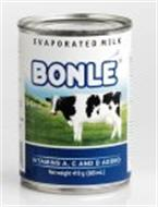 BONLÉ EVAPORATED MILK VITAMINS A, C AND D ADDED