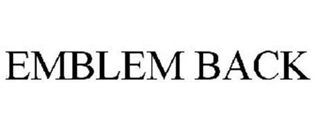 EMBLEM BACK
