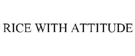 RICE WITH ATTITUDE