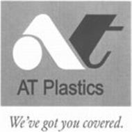 AT AT PLASTICS WE'VE GOT YOU COVERED.