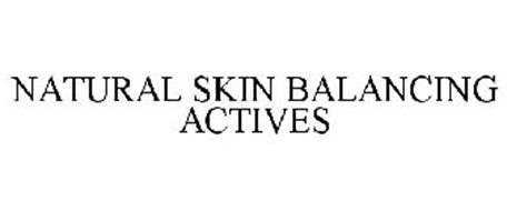 NATURAL SKIN BALANCING ACTIVES