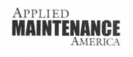 APPLIED MAINTENANCE AMERICA