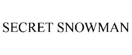 SECRET SNOWMAN