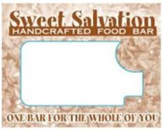 SWEET SALVATION HANDCRAFTED FOOD BAR, ONE BAR FOR THE WHOLE OF YOU