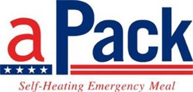 APACK SELF-HEATING EMERGENCY MEAL