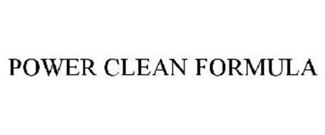 POWER CLEAN FORMULA