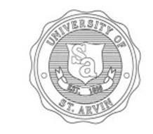 UNIVERSITY OF ST. ARVIN SA EST. 1866