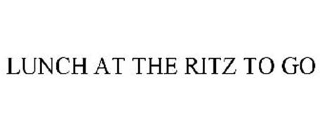 LUNCH AT THE RITZ TO GO