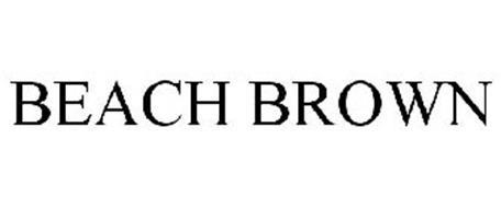 BEACH BROWN
