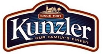 KUNZLER OUR FAMILY'S FINEST SINCE 1901
