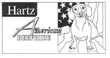 HARTZ AMERICAN BEEFHIDE