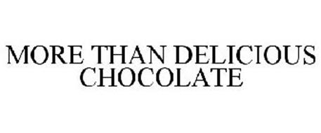 MORE THAN DELICIOUS CHOCOLATE