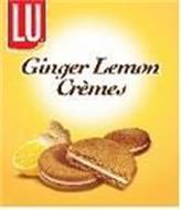 LU GINGER LEMON CREMES