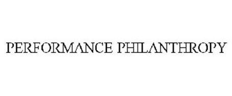 PERFORMANCE PHILANTHROPY