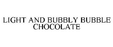LIGHT AND BUBBLY BUBBLE CHOCOLATE
