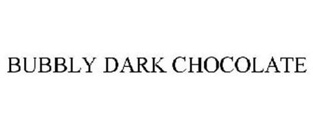 BUBBLY DARK CHOCOLATE