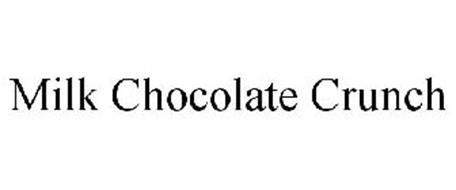 MILK CHOCOLATE CRUNCH