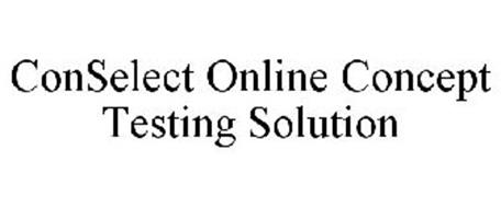 CONSELECT ONLINE CONCEPT TESTING SOLUTION