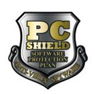 PC SHIELD SOFTWARE PROTECTION PLAN ANTI-VIRUS SPYWARE