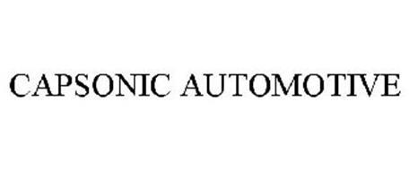 CAPSONIC AUTOMOTIVE