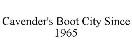 CAVENDER'S BOOT CITY SINCE 1965