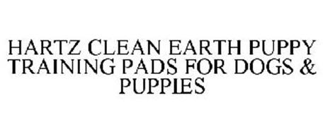 HARTZ CLEAN EARTH PUPPY TRAINING PADS FOR DOGS & PUPPIES