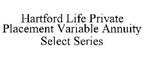 HARTFORD LIFE PRIVATE PLACEMENT VARIABLE ANNUITY SELECT SERIES