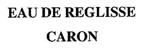 EAU DE REGLISSE CARON