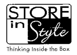 STORE IN STYLE THINKING INSIDE THE BOX