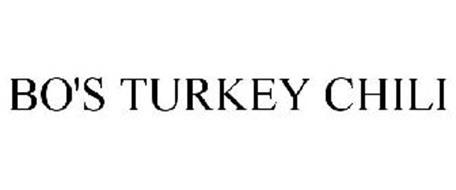 BO'S TURKEY CHILI