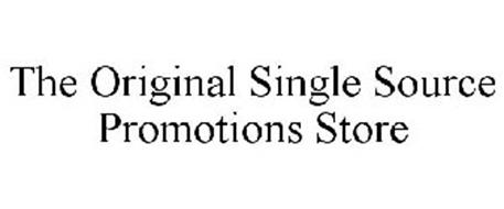 THE ORIGINAL SINGLE SOURCE PROMOTIONS STORE