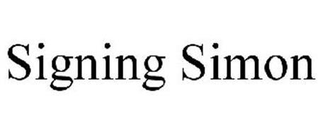 SIGNING SIMON