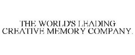 THE WORLD'S LEADING CREATIVE MEMORY COMPANY.