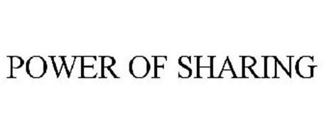 POWER OF SHARING