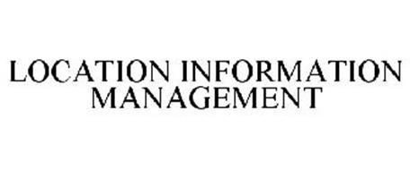 LOCATION INFORMATION MANAGEMENT
