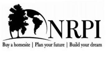 NRPI BUY A HOMESITE   PLAN YOUR FUTURE   BUILD YOUR DREAM