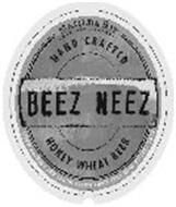 BEEZ NEEZ MATILDA BAY BREWING COMPANY HAND CRAFTED HONEY WHEAT BEER HAND CRAFTED WITH PURE LIGHT AMBER HONEY AND PREMIUM MALTS.