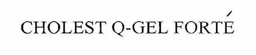 CHOLEST Q-GEL FORTE