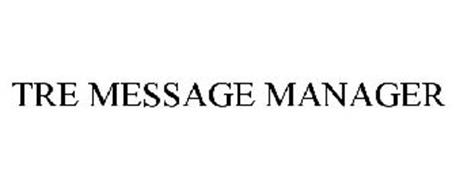 TRE MESSAGE MANAGER