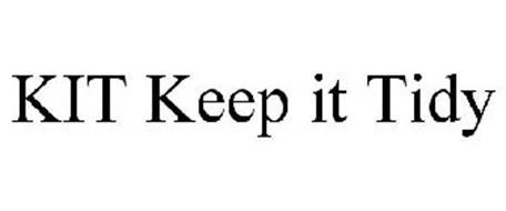 KIT KEEP IT TIDY