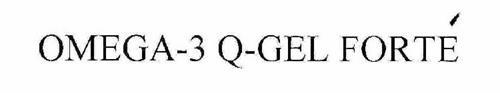 OMEGA-3 Q-GEL FORTE