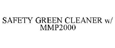 SAFETY GREEN CLEANER W/ MMP2000