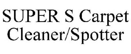 SUPER S CARPET CLEANER/SPOTTER