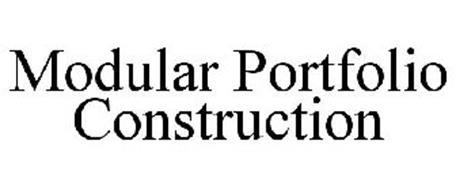 MODULAR PORTFOLIO CONSTRUCTION