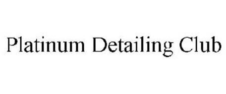 PLATINUM DETAILING CLUB