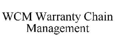 WCM WARRANTY CHAIN MANAGEMENT