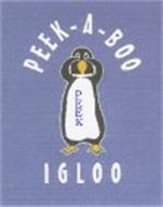 PEEK-A-BOO PEEK IGLOO