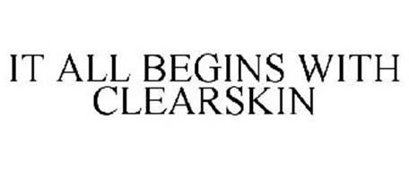 IT ALL BEGINS WITH CLEARSKIN