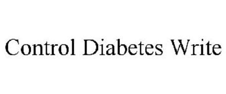 CONTROL DIABETES WRITE